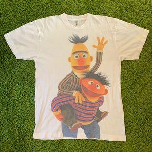 Bert & Ernie Single Stitch Tee